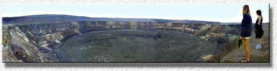 Halemaumau Crater - home of Pele - Volcanoes National Park
